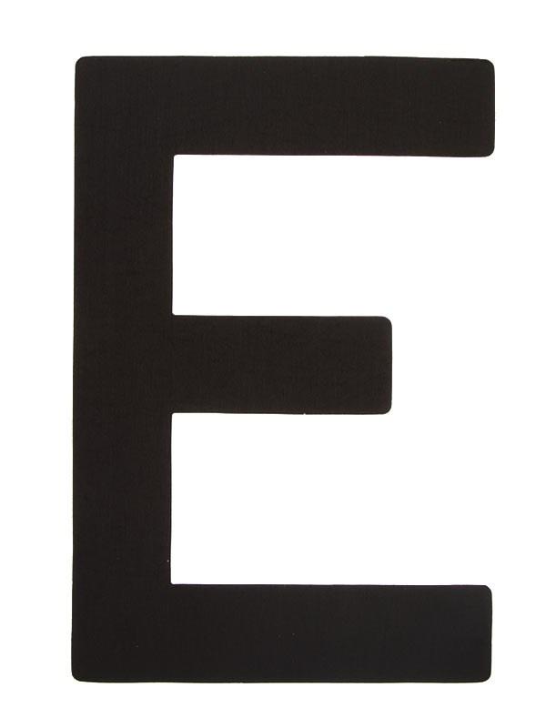 Segelsiffra E, 30cm