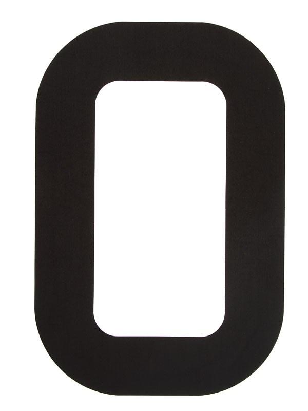 Segelsiffra 0, 38cm