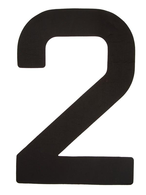 Segelsiffra 2, 38cm