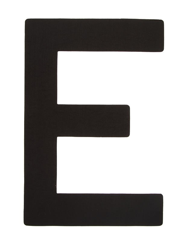 Segelsiffra E, 38cm