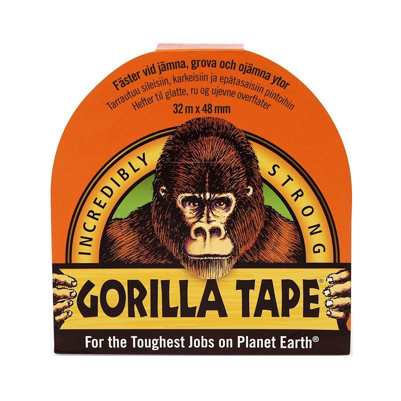 Gorilla tejp Svart 48mm x32m