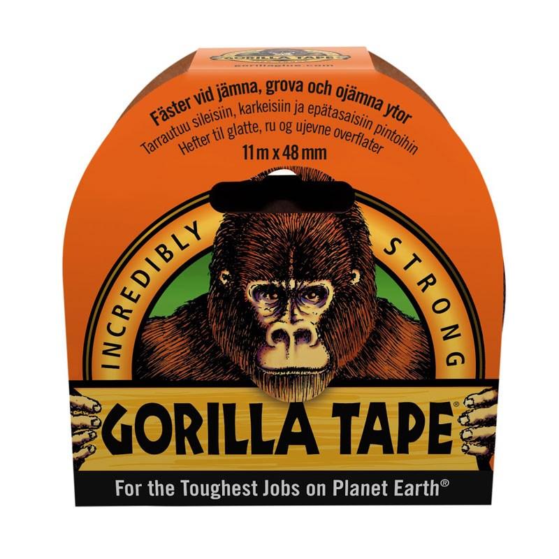 Gorilla tejp Svart 48mm x11m