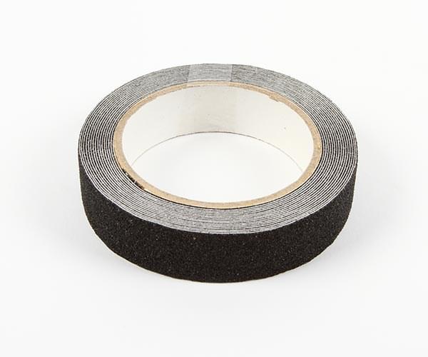 Halkband svart 25mm x 5m