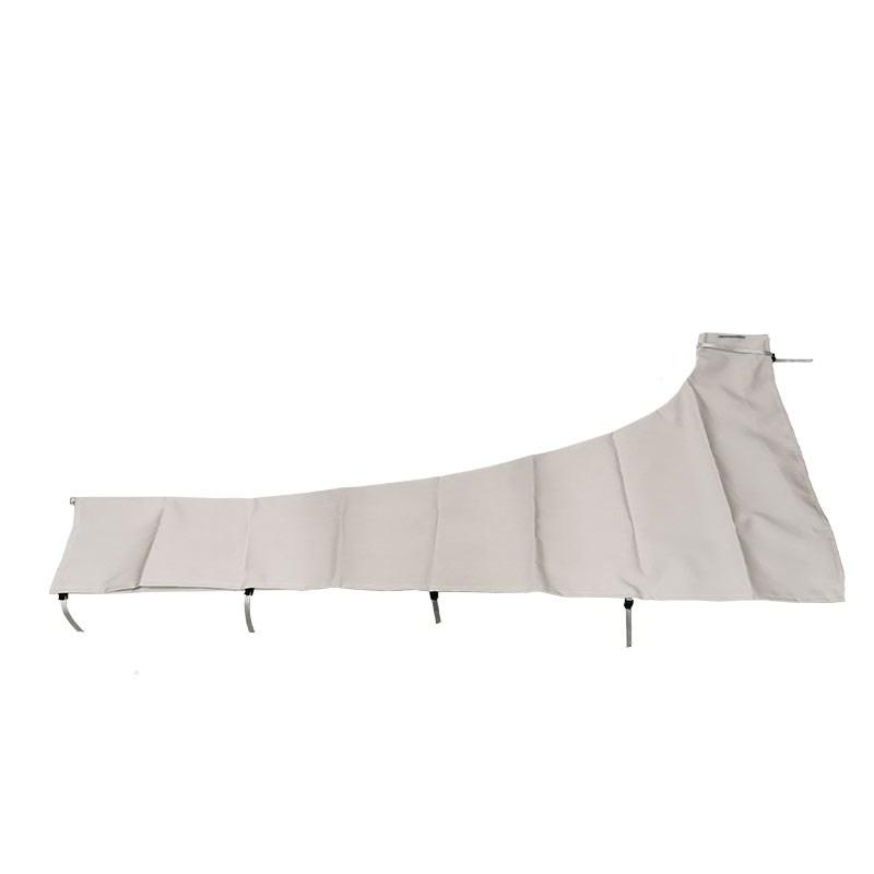 Segelkapell 350cm grå