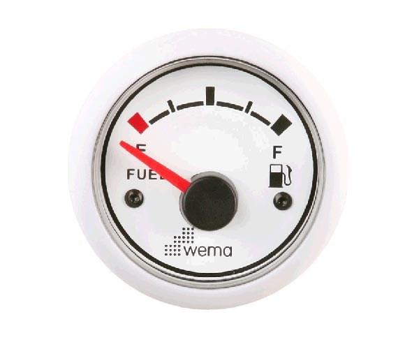 Bränslemätare Wema Vit