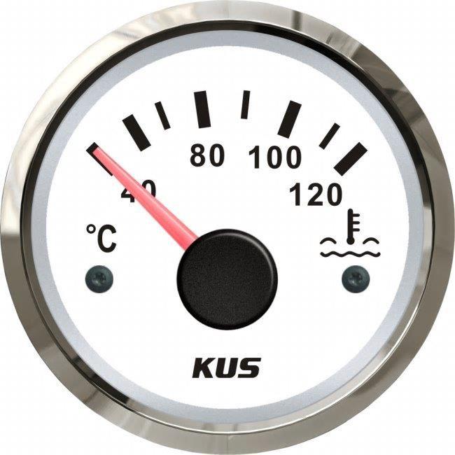 KUS Temperaturmätare 40-120° vit