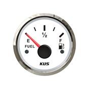 KUS Bränslemätare Vit 0-190ohm