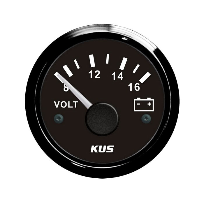 KUS Voltmätare 8-16V