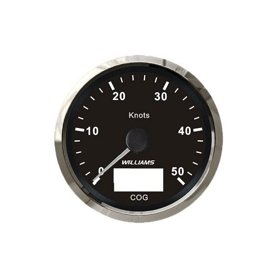 GPS-logg Silverline Silver/vit 0-50 knop