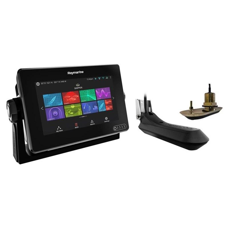 Raymarine Axiom 12tum RV Plotter/Ekolod inkl RV-100 givare