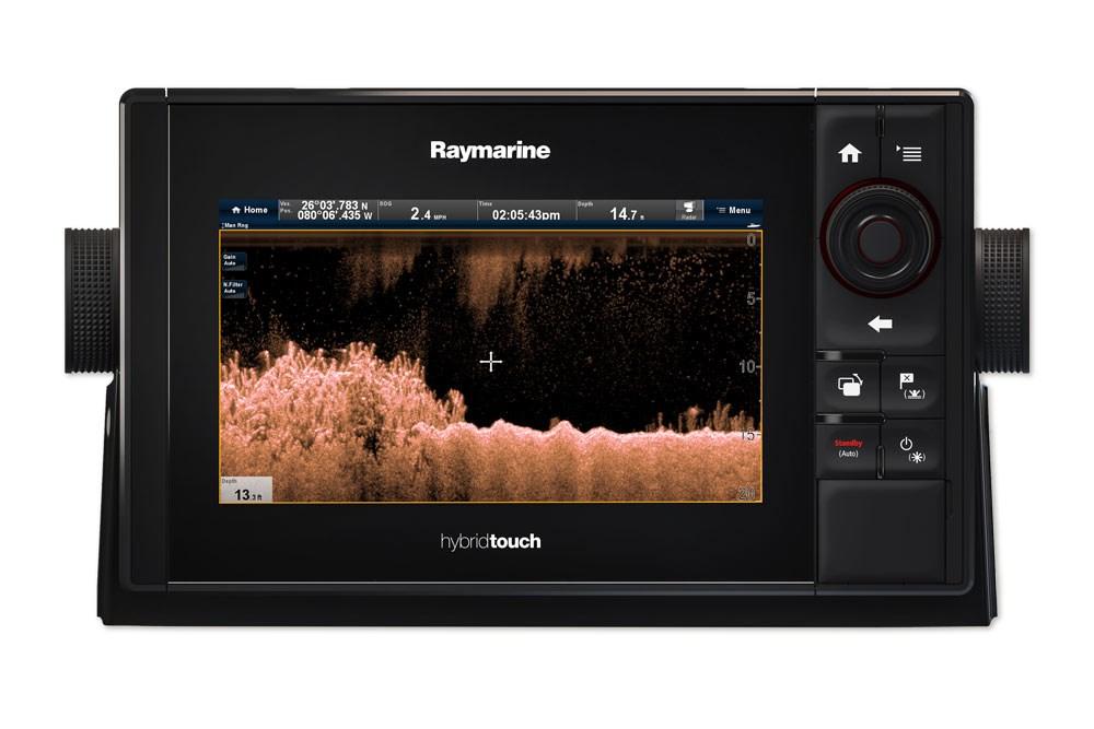 Raymarine eS78 - plotter/ekolod med EU-sjökort