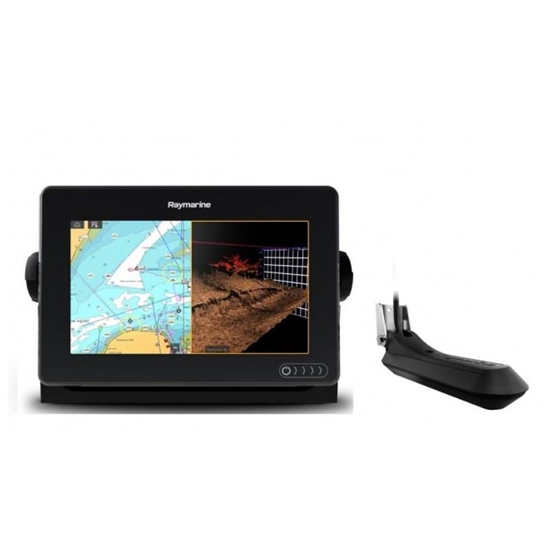 Raymarine Axiom 7tum RV Plotter/Ekolod inkl RV-100 givare