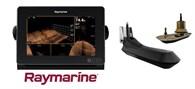 Raymarine Axiom 9RV inkl givare och sjökort