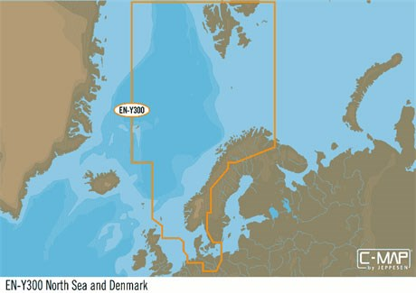 C-map N+ Västkust+Norge