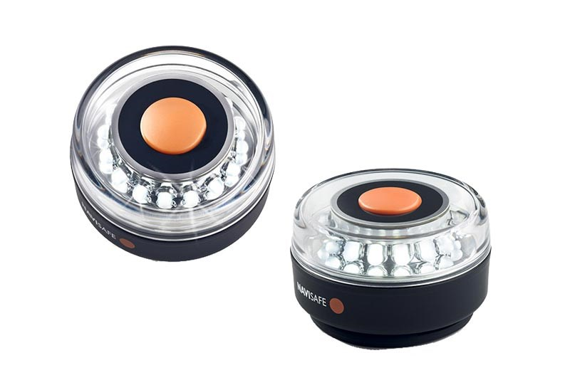 Navi Light Lanterna 360gr Vit Magnet