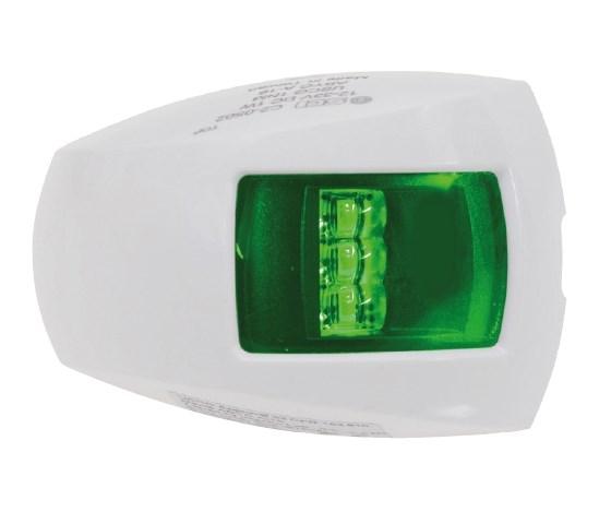 Lanterna LED Styrbord Vit 1NM liten
