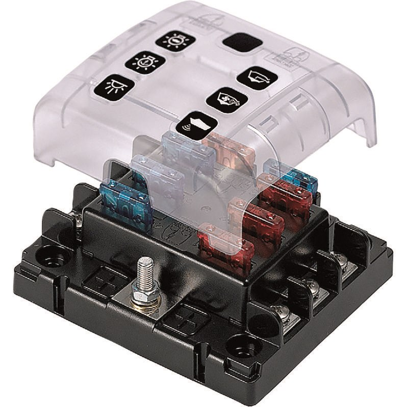 BEP Säkringsbox 6 x ATC QC