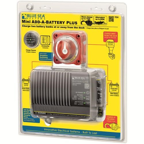 Blue Sea Mini Add-A-Battery Plus 65A