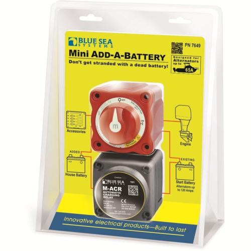 Blue Sea Add-A-Battery 65A
