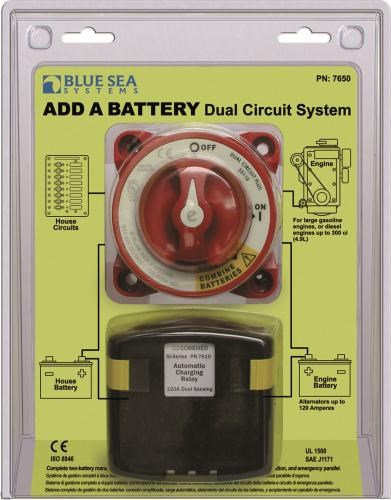 Blue Sea Add-A-Battery 120A