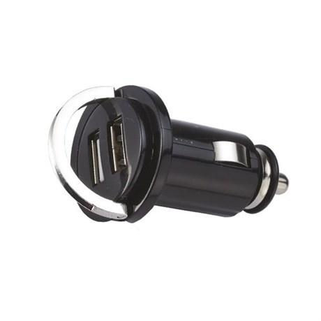 Stickkontakt/ Dubbelt USB-uttag