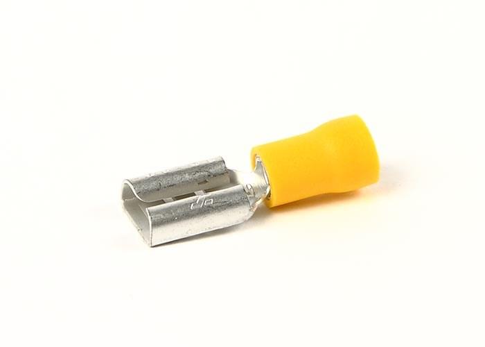 Flatstiftshylsa gul 9.5mm FP=4st