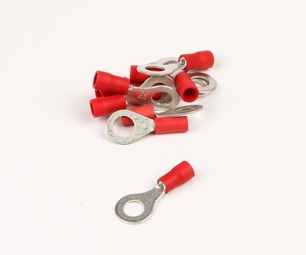 Ringkabelsko röd M5 10st