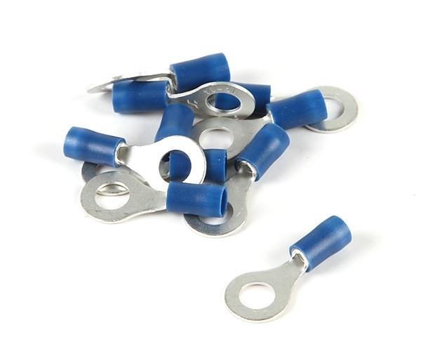 Ringkabelsko blå M6 10st