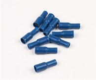 Rundstiftshylsa blå 10st