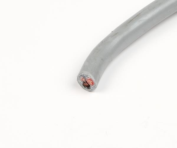 Kabel 3x1.5mm2 grå rund