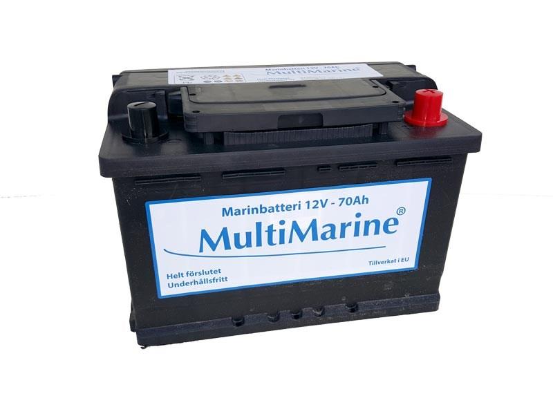 Multimarine Marinbatteri 70Ah 12V