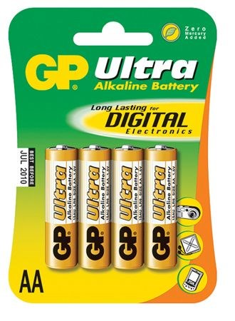 Batteri LR6/AA 4-pack