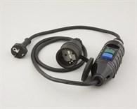 Jordfelsbrytare IP44 portabel.