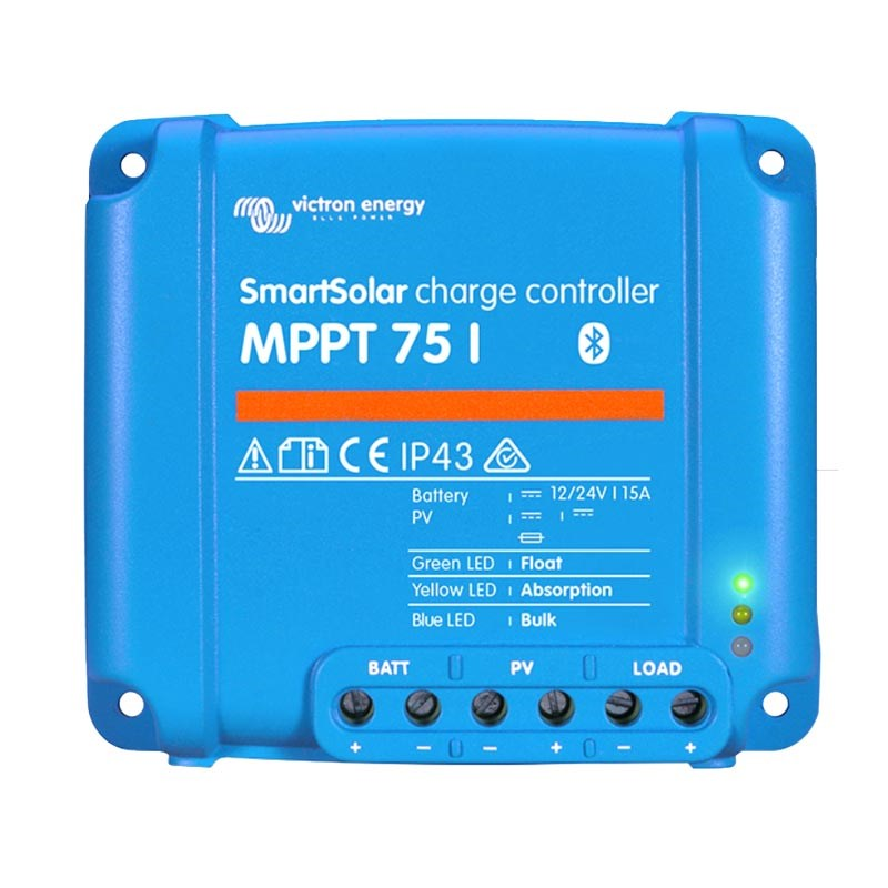 SmartSolar MPPT 75/10 Laddningsregulator Bluetooth