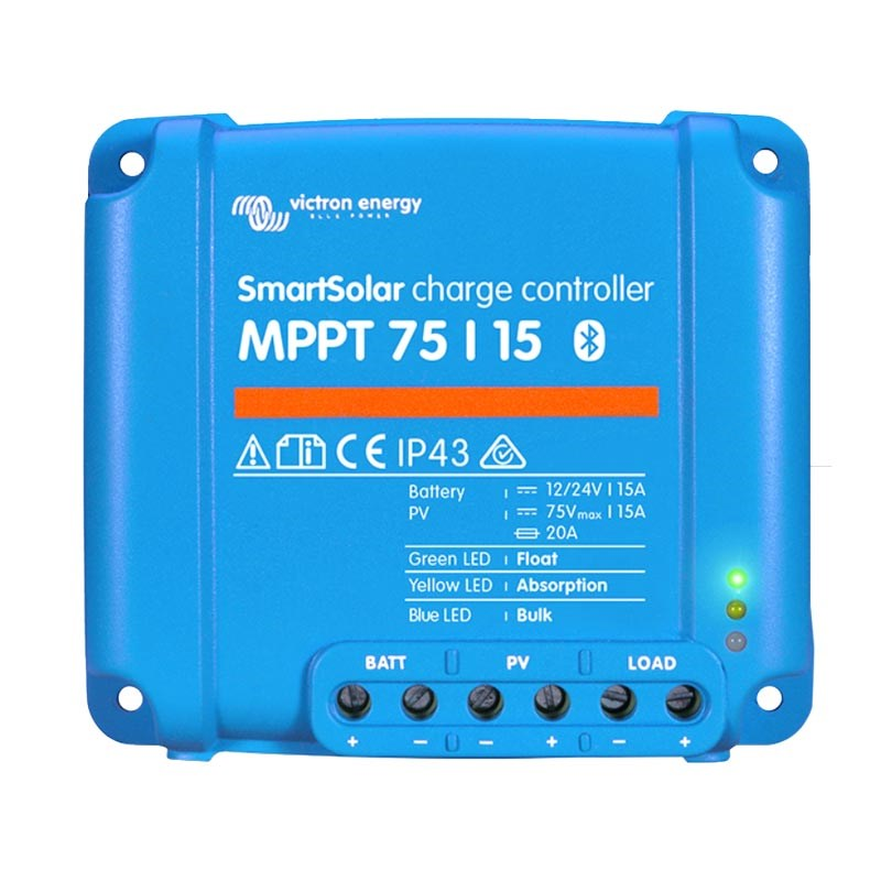 SmartSolar MPPT 75/15 Laddningsregulator Bluetooth