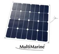 Multimarine Solpanel böjbar 35W