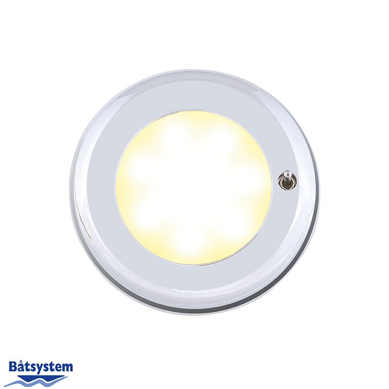 Nova II SMD LED, krom, switch