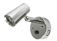 Nautilight lampa med USB 2A