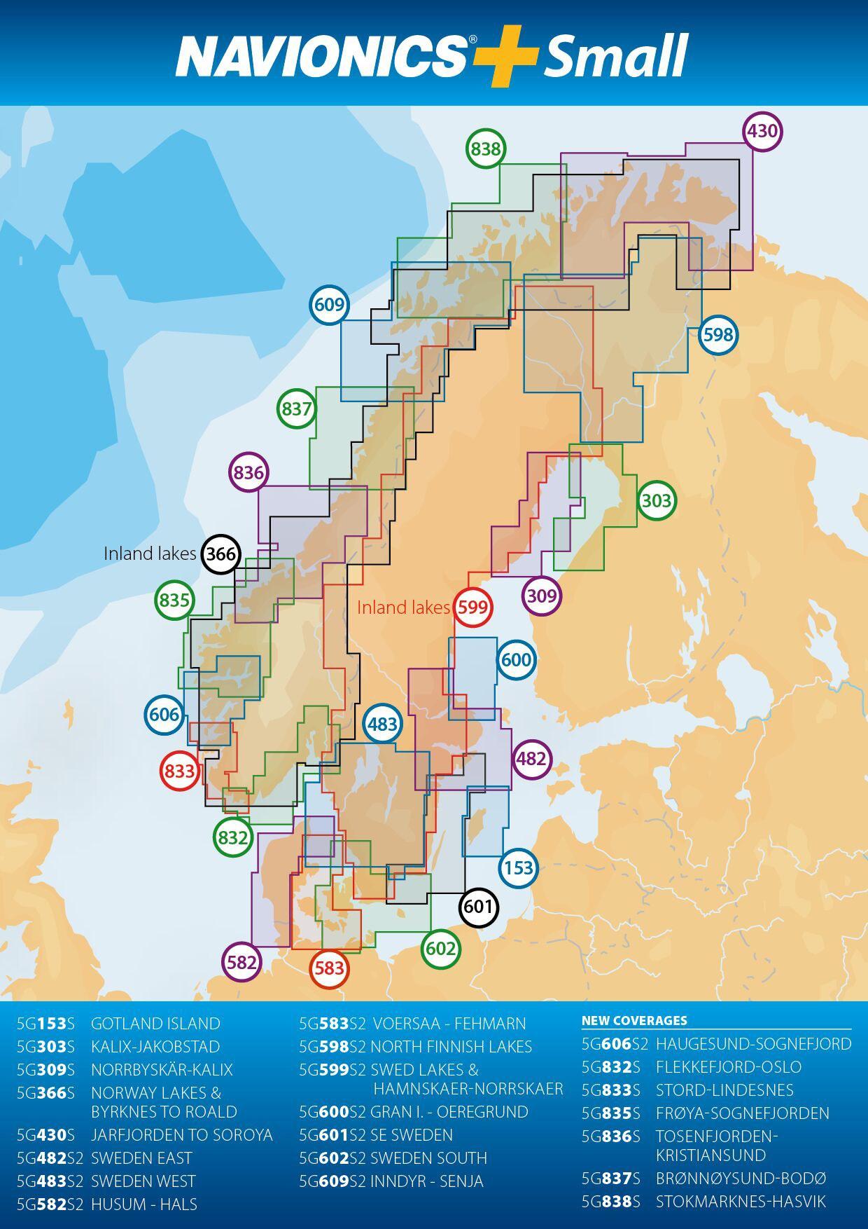 Navionics+ mSD/SD 602S Varberg-Karlskrona