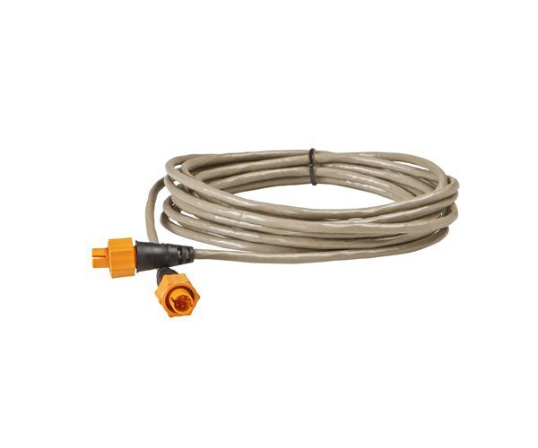 Lowrance Ethernetkabel 4.5m gul kontakt