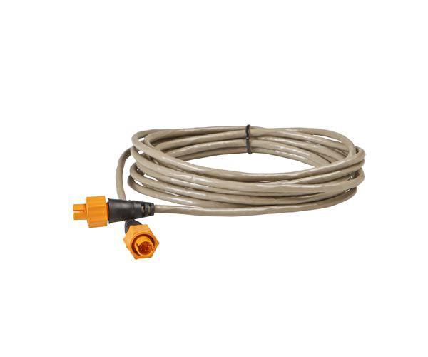 Lowrance Ethernetkabel 7.6m gul kontakt