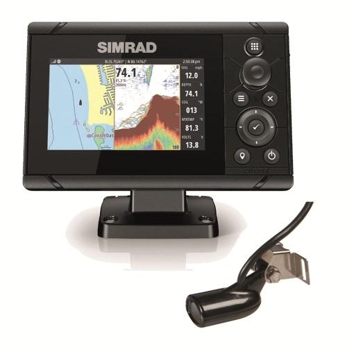 Simrad Cruise 5 83/200 Xdcr