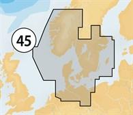Navionics CF 45XG västkusten-Danmark
