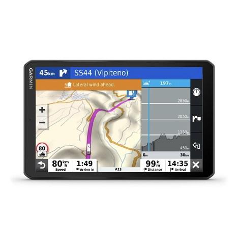 Garmin Camper 890, GPS för husbil