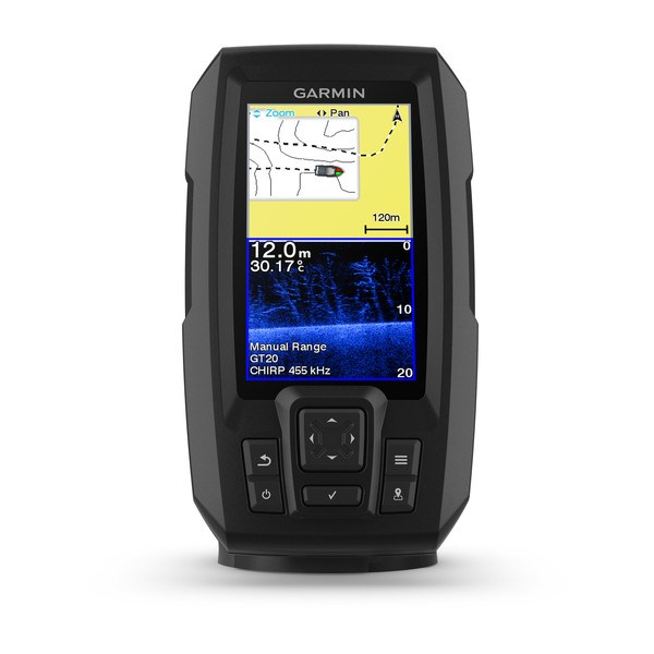 Garmin Striker Plus 4cv med aktergivare GT-20 4pin