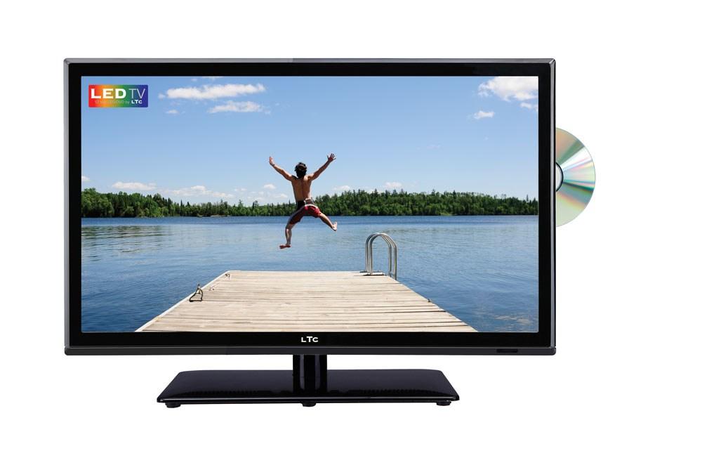 LTC LED-TV 24 tum med DVD