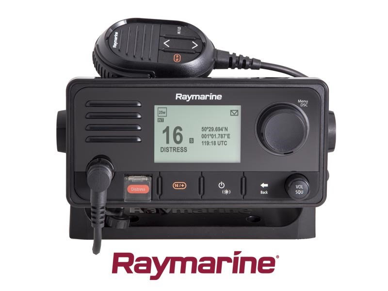 Raymarine Ray63 VHF Radio med integrerad GPS-mottagare
