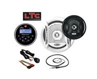 LTC Promarine 1111 Stereopaket, Svart