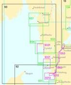 Övningssjökort kustskepparintyg