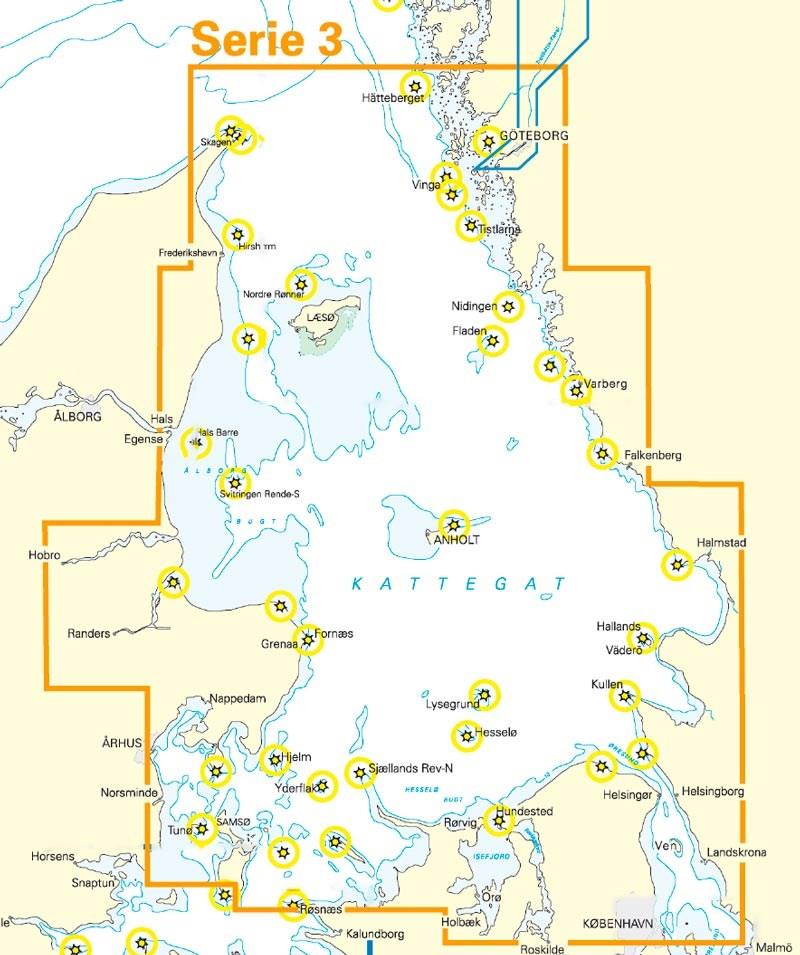 NV. Atlas Serie 3, Samsö - Sund - Kattegat